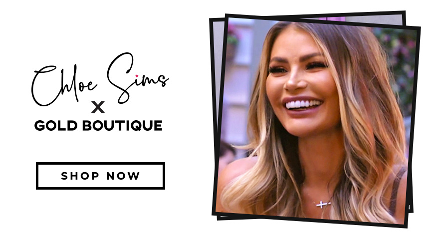 Chloe Sims X Gold Boutique